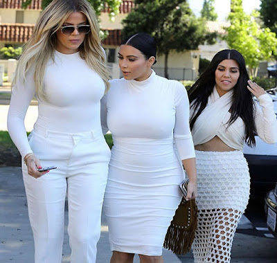 Kim Khloe Kourtney Kardashian fat as whales funny