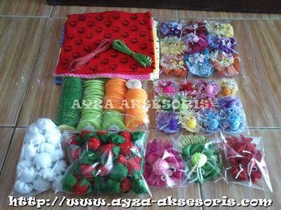 Paket Pesanan Sahabat Ayza Aksesoris dari Bogor