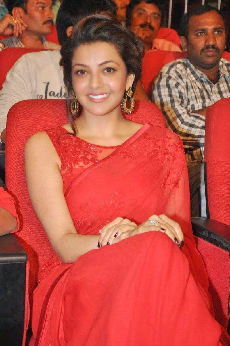 Kajal Aggarwal At Govindudu Andarivadele Movie Audio Launch