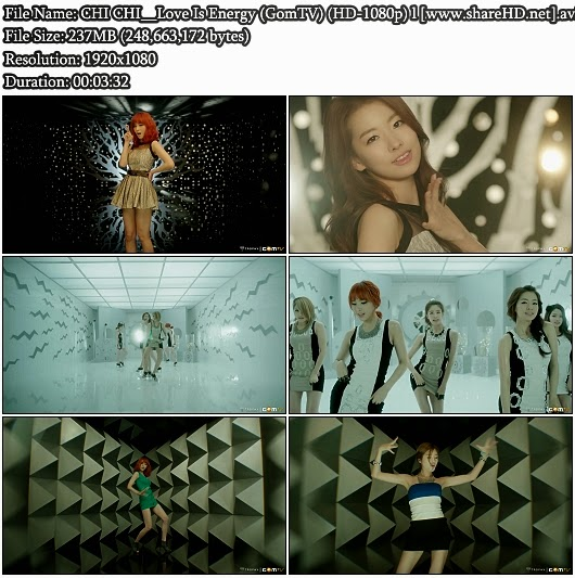 Download MV CHI CHI - Love Is Energy (GomTV Full HD 1080p)