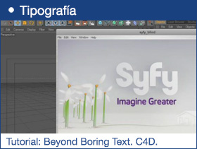 Tutorial: Beyond Boring Text. C4D.