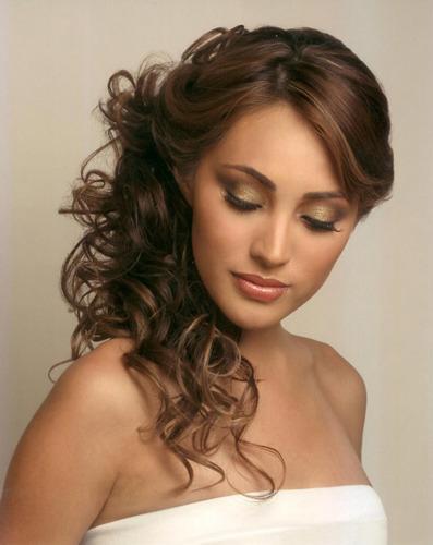 Peinados a la moda peinados f ciles y sencillos de fiesta - Peinados de semirecogido ...