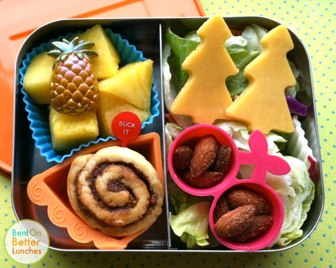 Psych Dual Spires bento lunch