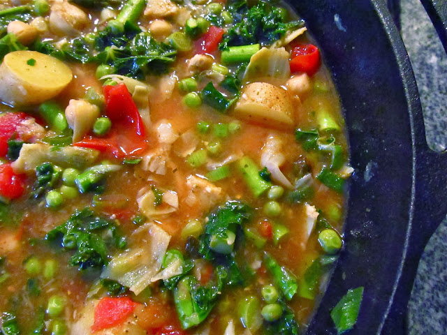 LaraThalice: Spring Minestrone Soup