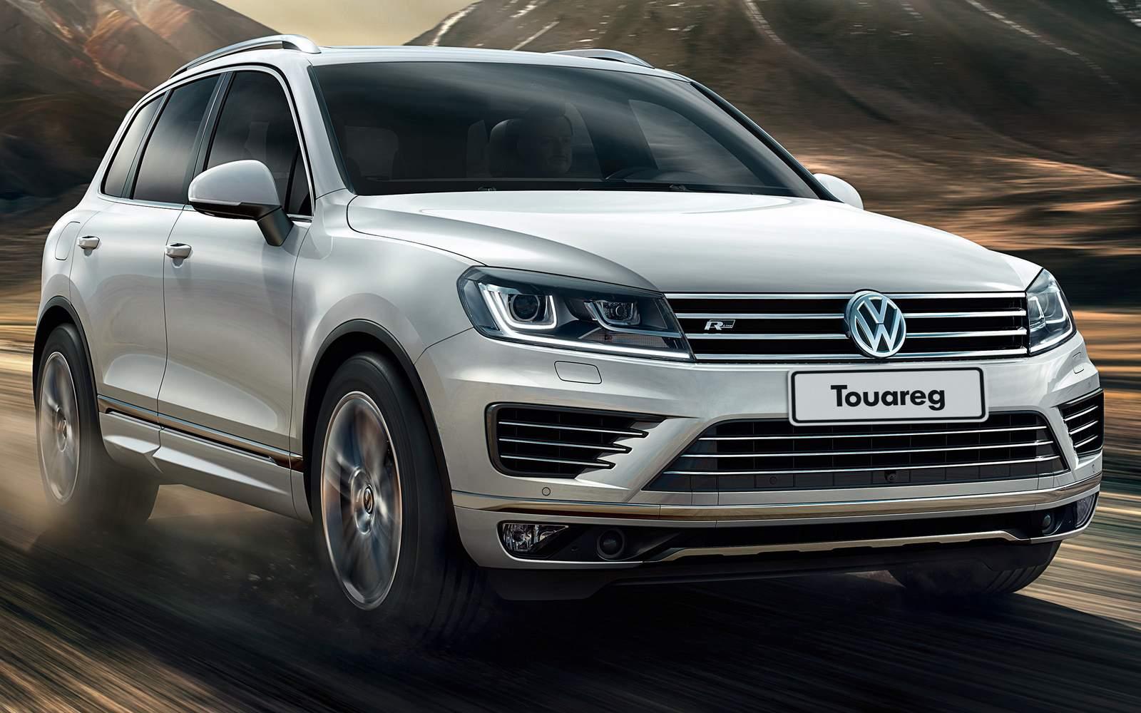 Novo VW Touareg 2015 V8 - interior