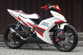 The Modification Yamaha Jupiter MX   Diverse Information