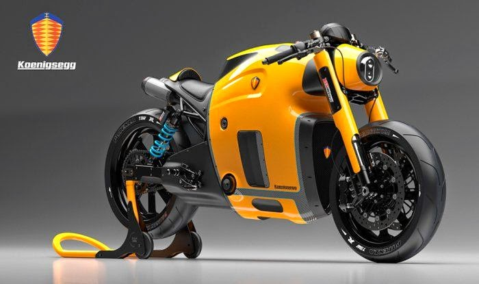 Concept Motorcycle Koenigsegg (Pictures)