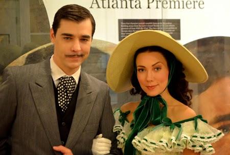 """Rhett & Scarlett Reunited...For the Evening"", Road to Tara Museum"