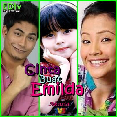 Drama Akasia, Cinta Buat Emilda akan datang di TV3..