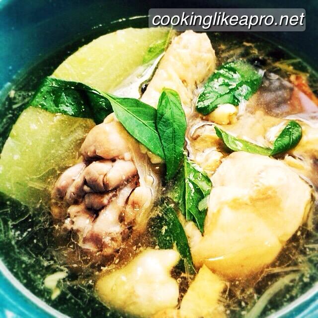 recipe: chicken tinola recipe [19]