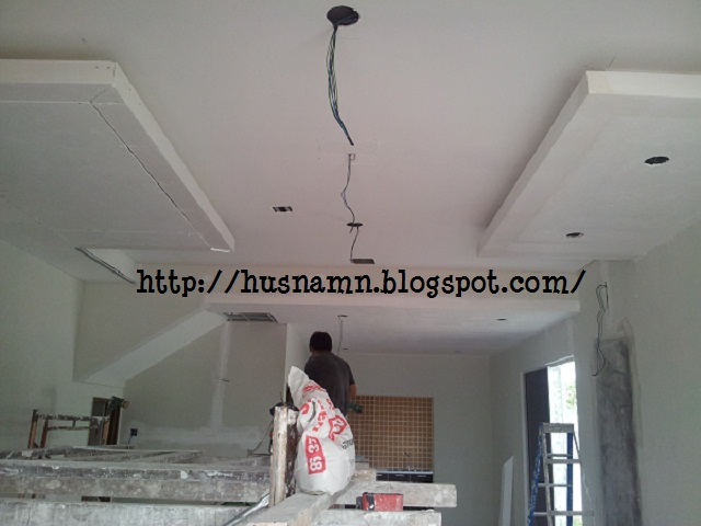 equilibrium: Home Progress: Plaster Ceiling and Lightings