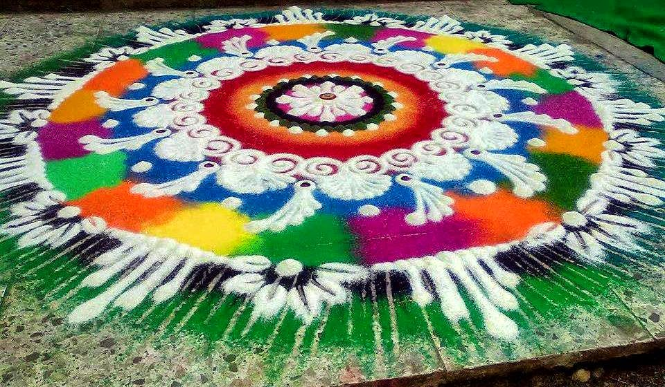 Rangoli Design for Dussehra 2. 30 Rangoli Designs for all Occasions