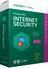 Kaspersky Internet Security 2016 box
