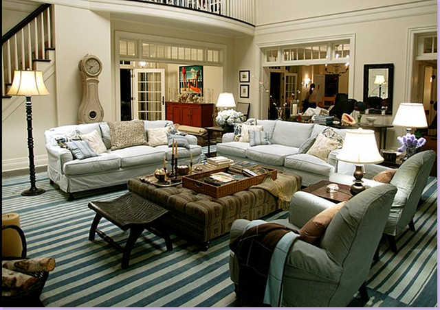 Modern country style something 39 s gotta give living room for Modern country style