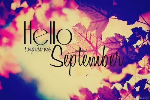 Hello September: surprise me, photo