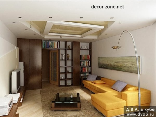 12 stretch ceiling designs for living room for Living room designs 10x10