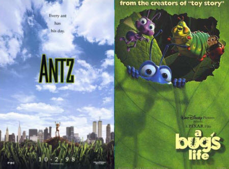 Antz / A Bug's Life (1998)