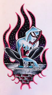 marvel comics fan art spider gwen fanart geekart dc dc comics spider man