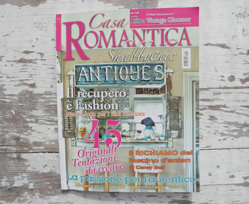 Shabby french for me thank you casa romantica shabby for Casa magazine