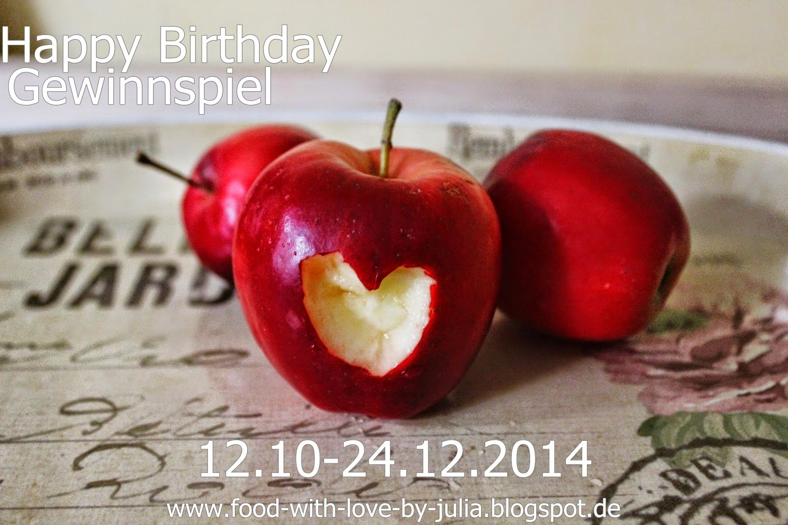 ",,Happy Birthday"" (bis 24.12.14)"