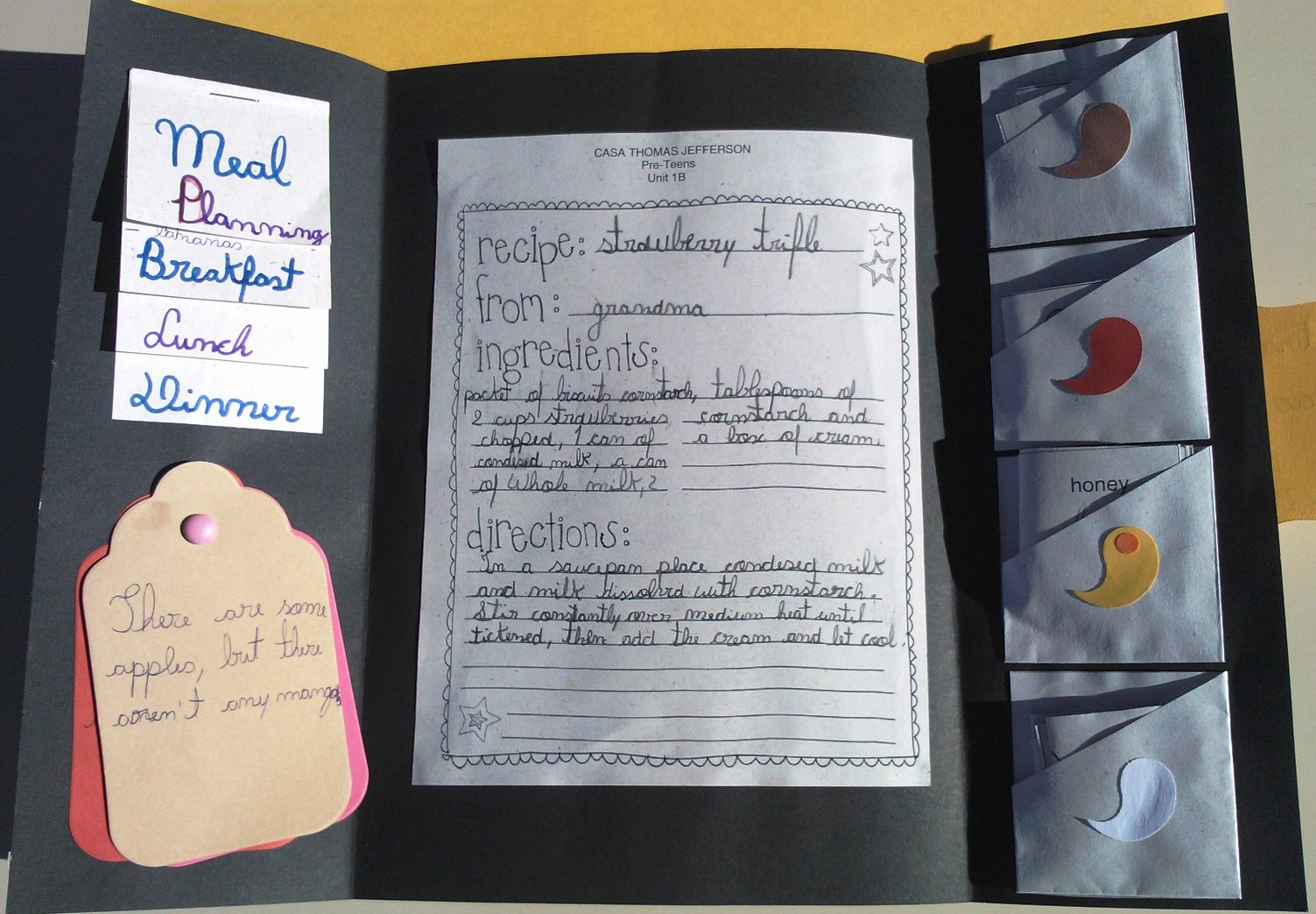 Lapbooks and Foldables - Food | Kids Love English