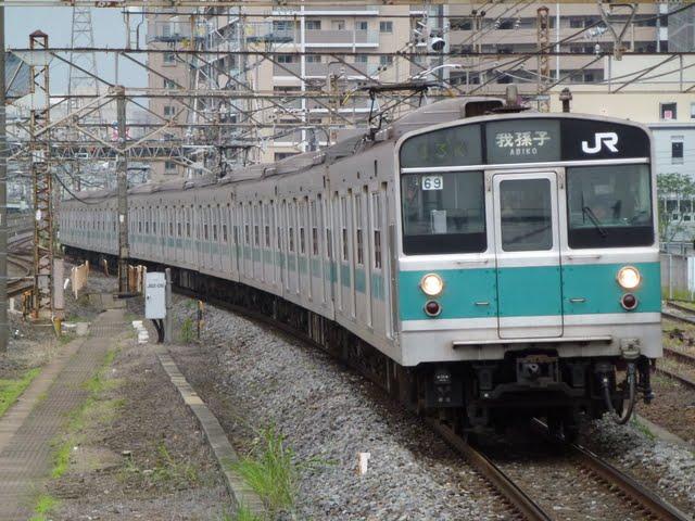 東京メトロ千代田線 我孫子行き5 JR東日本203系