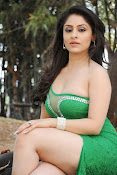 Ankita Sharma Hot photo shoto in Green-thumbnail-13
