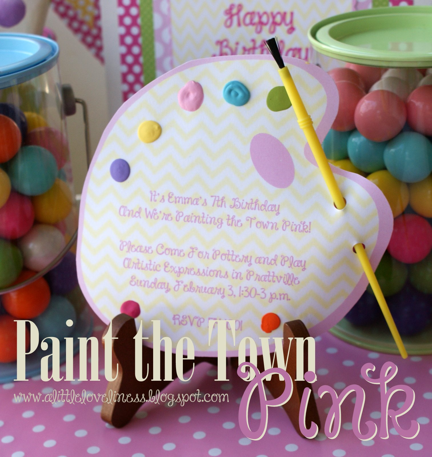 A Little Loveliness: Let\'s Paint the Town Pink!
