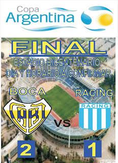 FINAL DE LA COPA ARGENTINA