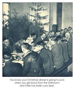 hitler christmass dinner
