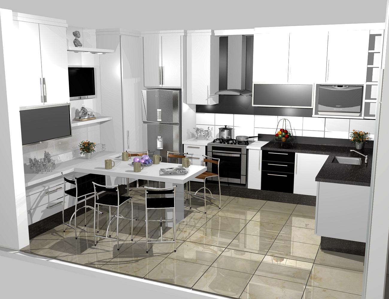 #6A4784 armários por todos os lados é muito importante. 1300x1000 px Projetos De Cozinhas Para Bar #641 imagens