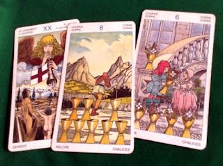 Tirada de tres cartas para Acuario