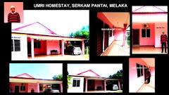 Umri Homestay, Serkam Pantai, Melaka
