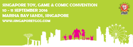 Singapore Toy Game & Comic Convention  2016