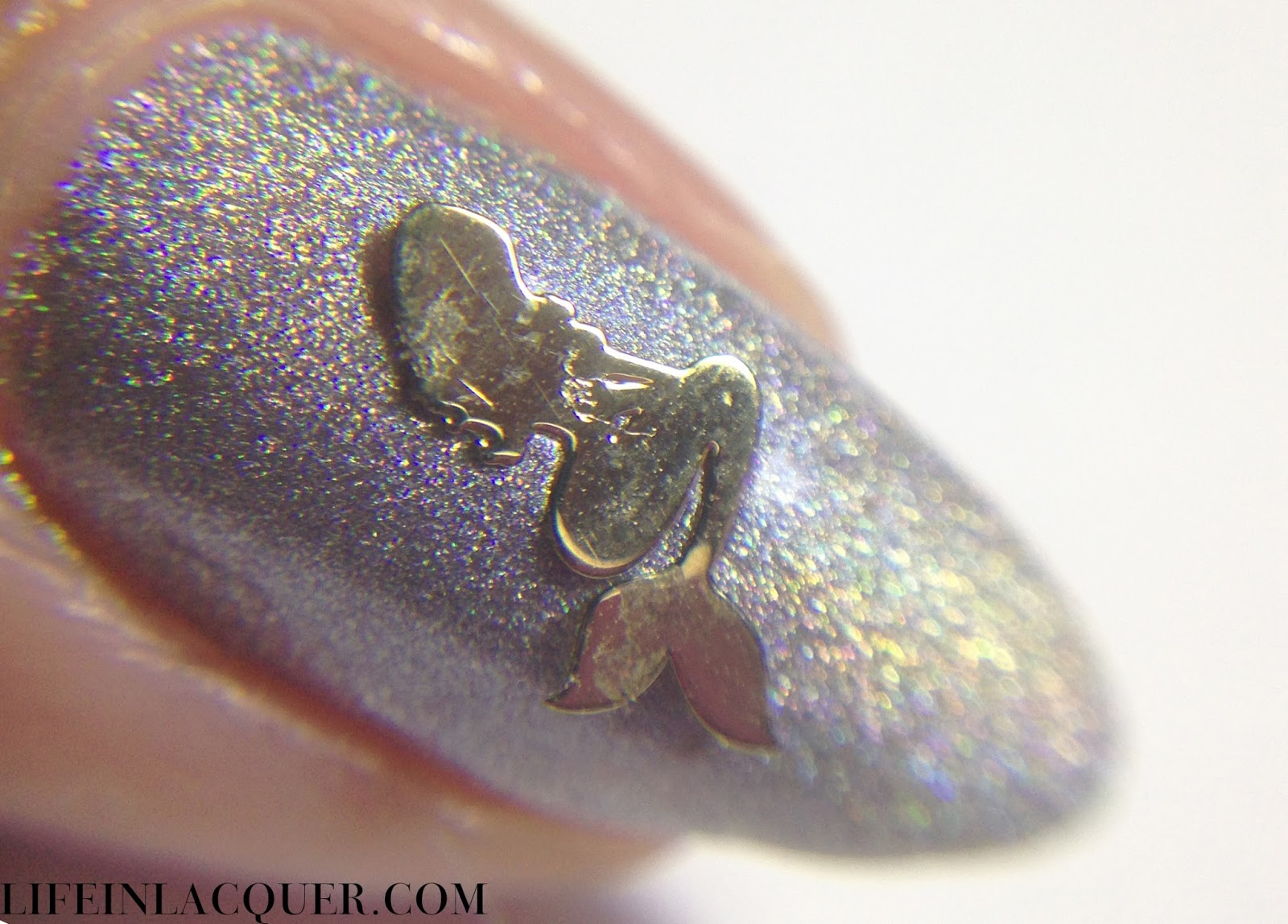 Fish Scale Nail Art macro