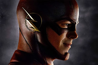 Grant Gustin as The Flash in mask