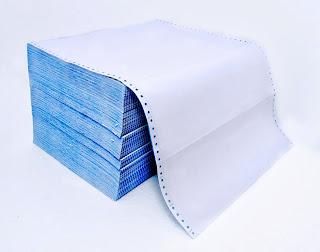 kertas continuous form