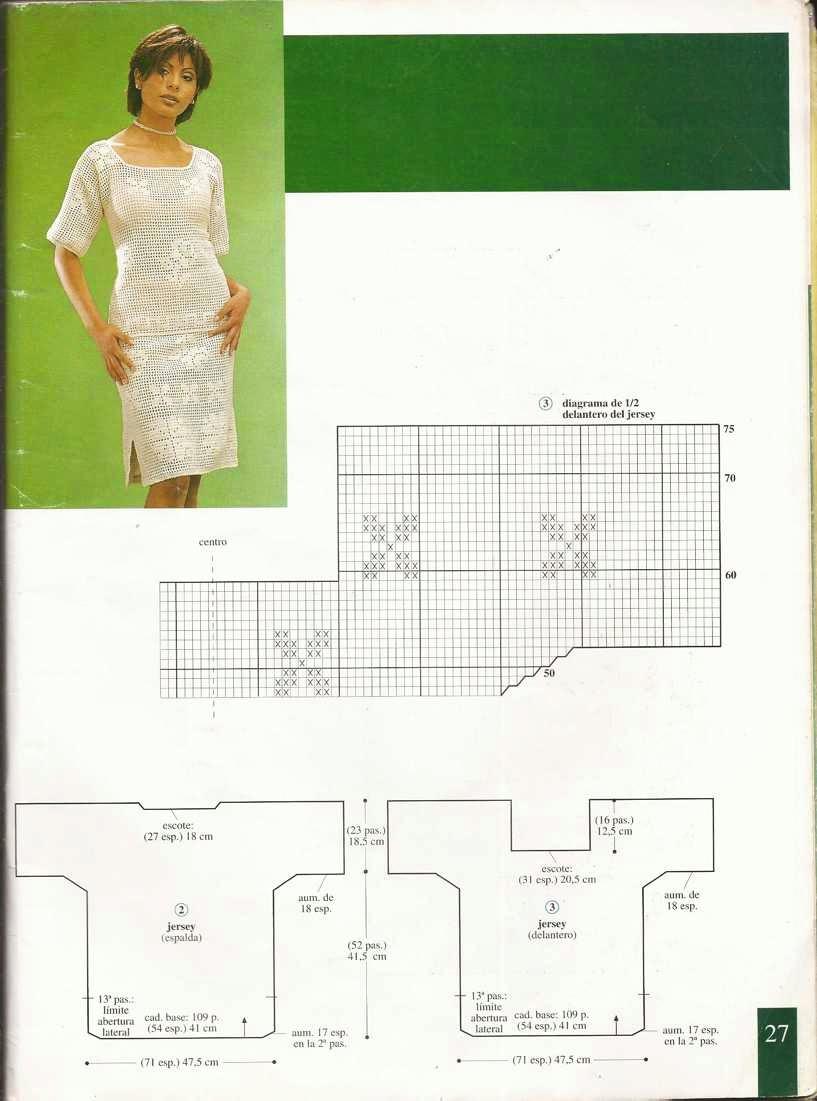 Patrón de blusa y falda