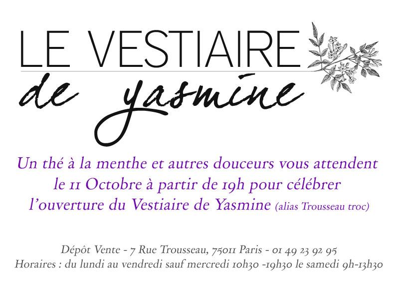 le vestiaire de yasmine invitation a partager un petit th pour l 39 inauguration du vestiaire. Black Bedroom Furniture Sets. Home Design Ideas