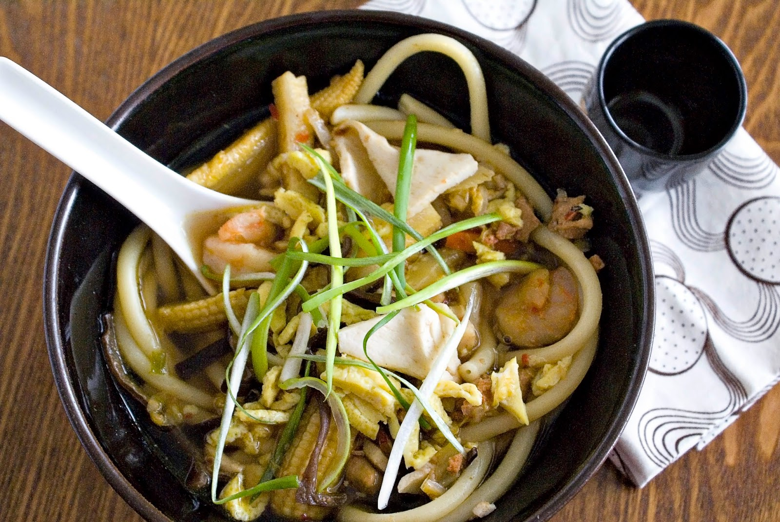 The Hungry Lovers: Seafood Udon Soup