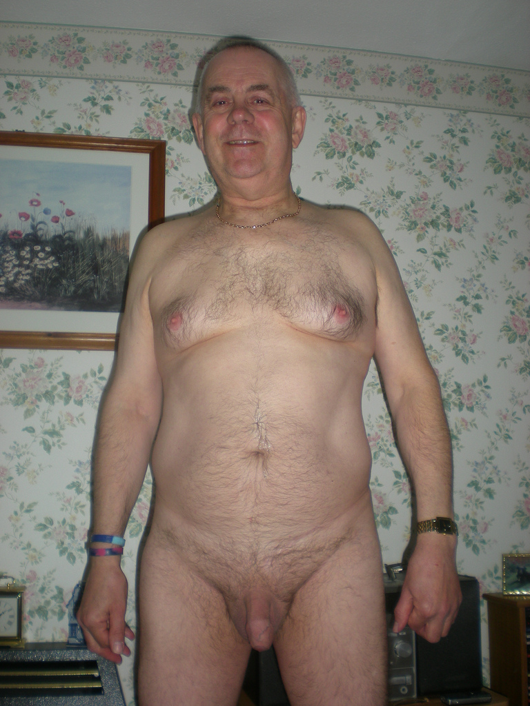 Nude gay senior men