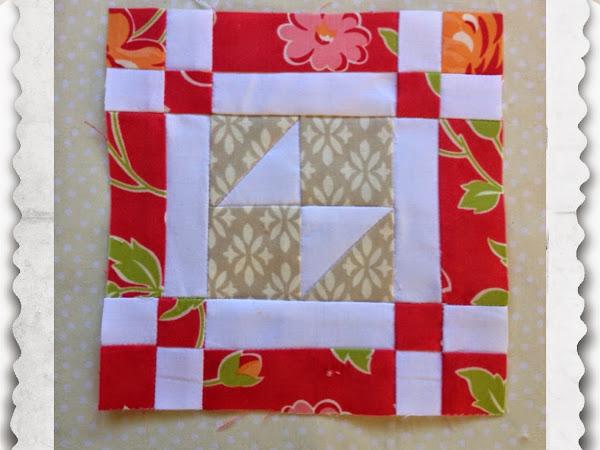 Chatelaine- Free BOW Sampler Quilt Block 26