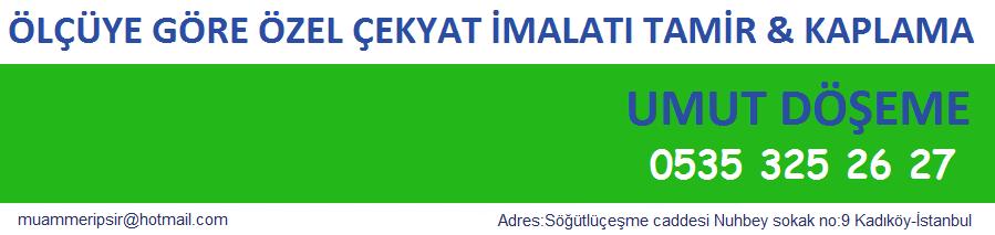 ÇEKYAT TAMİRİ KADIKÖY 0216 İSTANBUL ÇEK YAT YAPIMI İMALATI MAKAS DEĞİŞİMİ ÖZEL YAPIM FİYATLARI