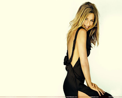 Jennifer Aniston Wallpaper in Black
