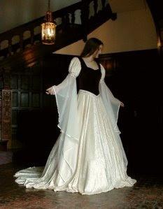 fotos de Vestidos Medievais