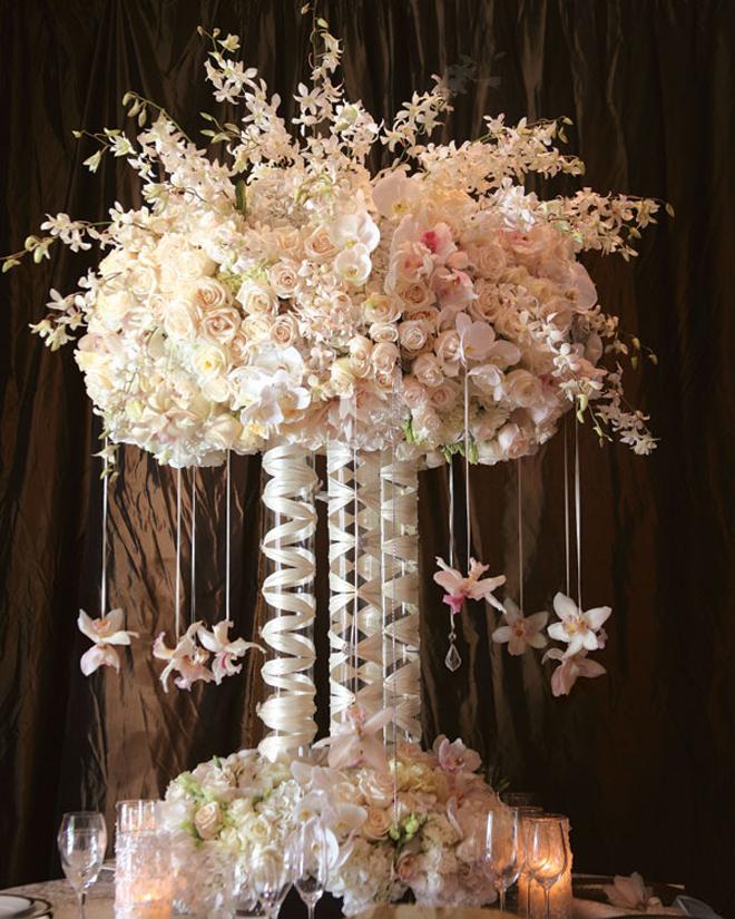 Centerpiece Floral Arrangement Wedding Decor Flowers