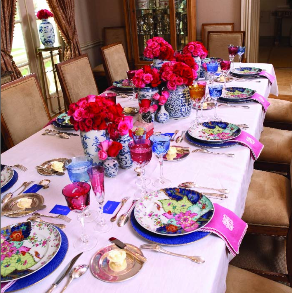 Kimberly Schlegel Whitman Tablescape Tuesday Baby Shower