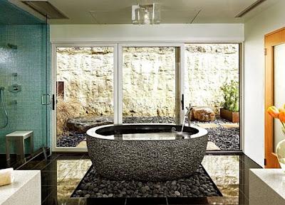 foto de baño zen