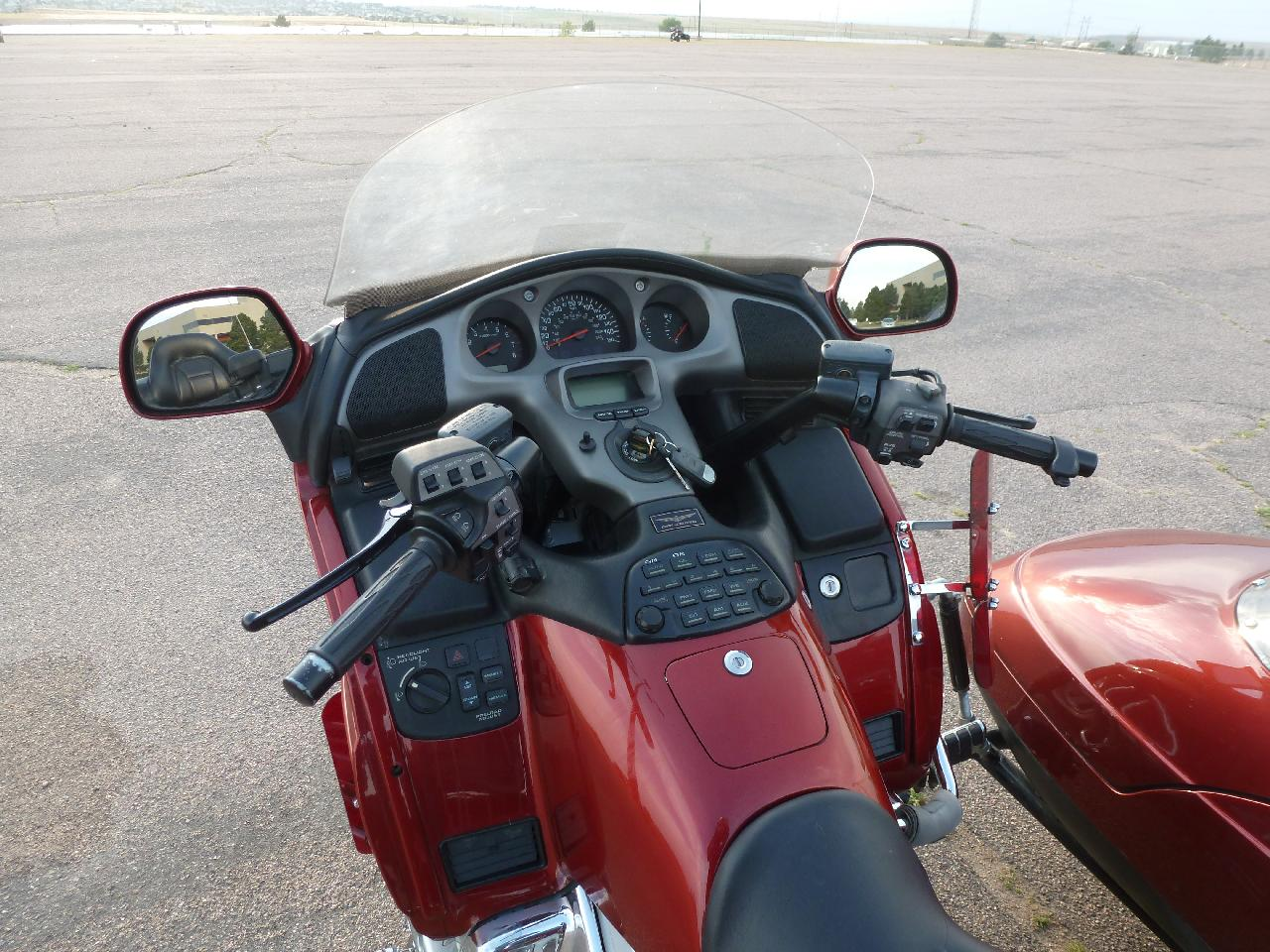 Redlegs Rides  Riding a Honda Goldwing Sidecar Rig