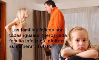 Las Familias felices son todas iguales
